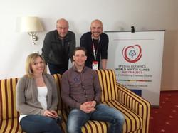 Special Olympics: Benjamin und Marlies Raich