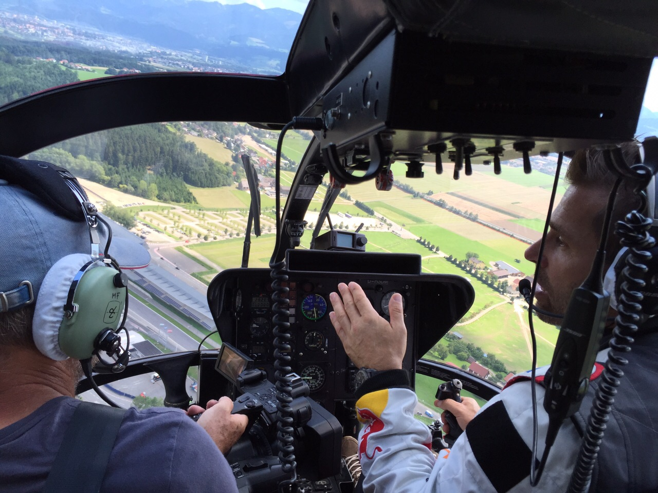 Flug mit Hannes Arch †
