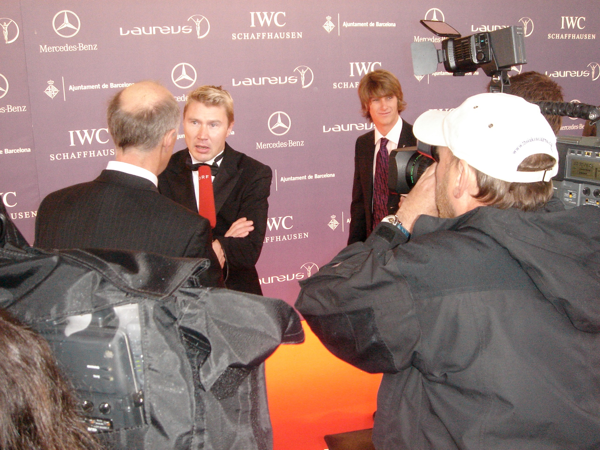 Laureus Sports Awards: M. Häkkinen, Shaun White