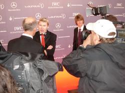 Laureus Sports Awards: M. Häkkinen, Shaun White