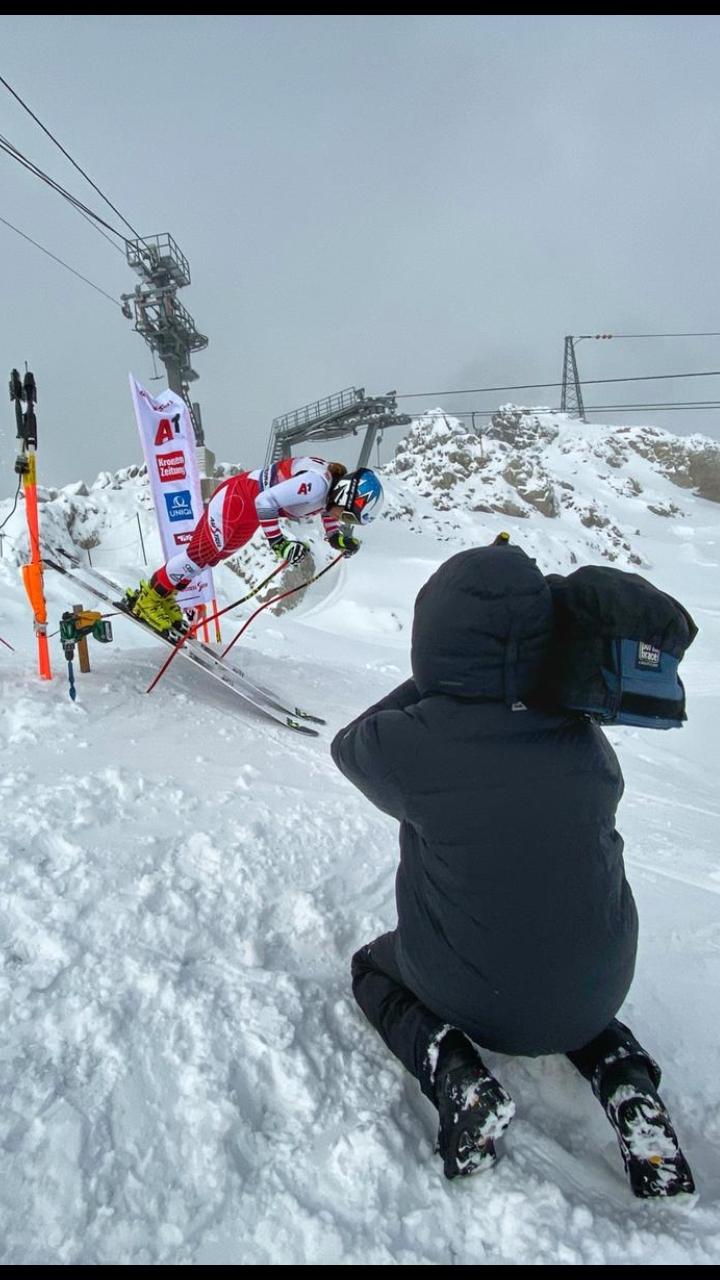 Kamera: Bernhard beim ÖSV Training