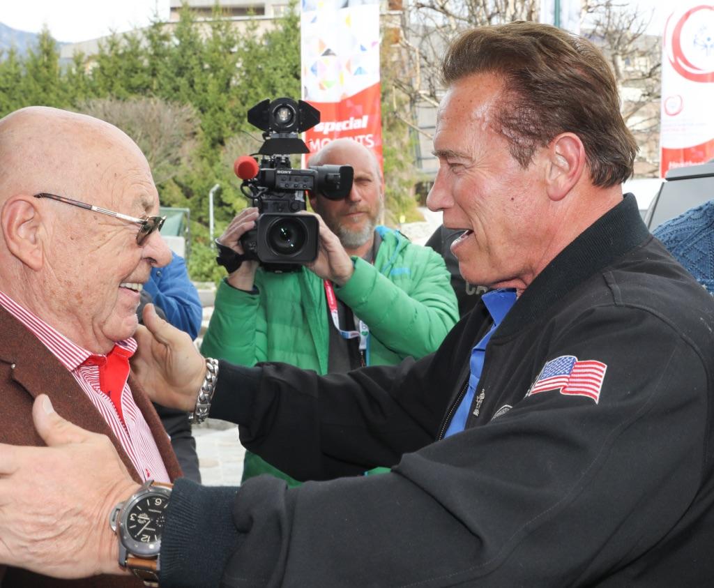 Ing. Ernst Royer - Arnold Schwarzenegger