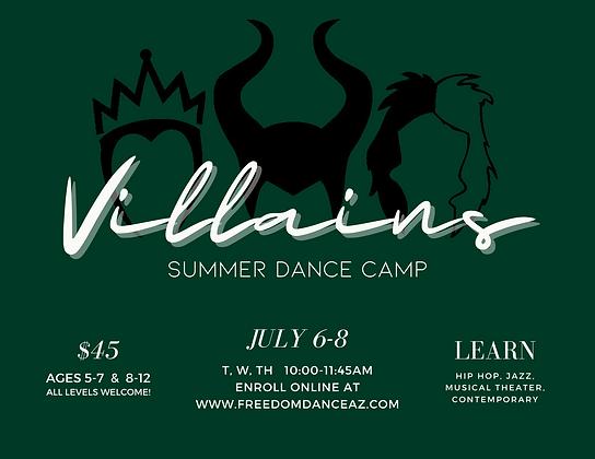 Dark Violet Dance School Trifold Brochur