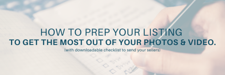Checklist: How to Prep Your Listing for Photos