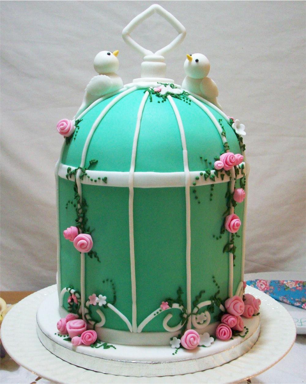Celebration Birdcage Cake