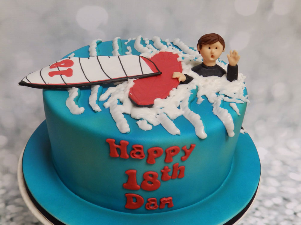 Personalised Sea Birthday Cake
