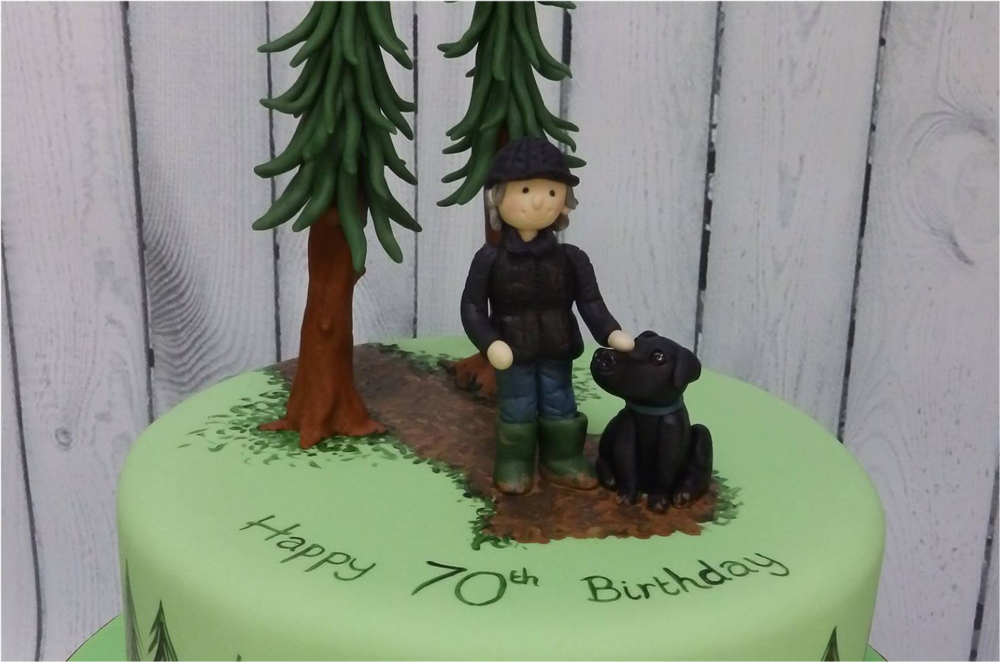 People & their Pets Cake Toppers