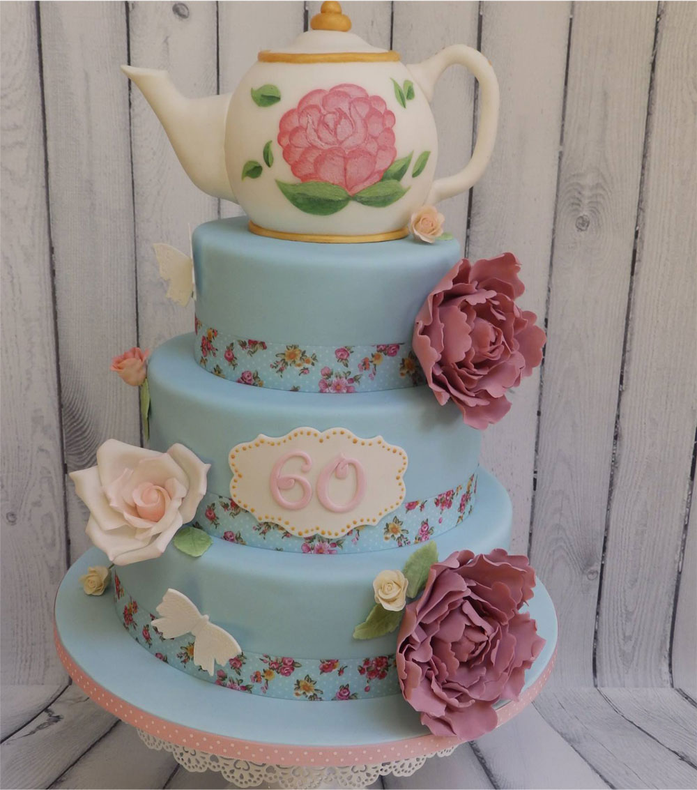 Special 60th Birthday Cake
