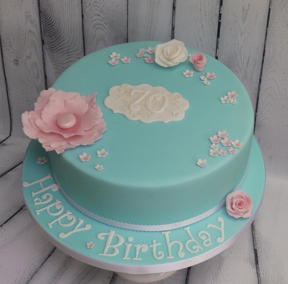Personalised-70th-Birthday-Cake