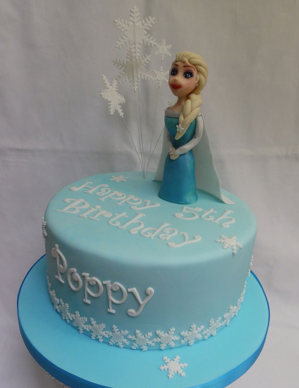 Personlised-Frozen-Birthday-Cake