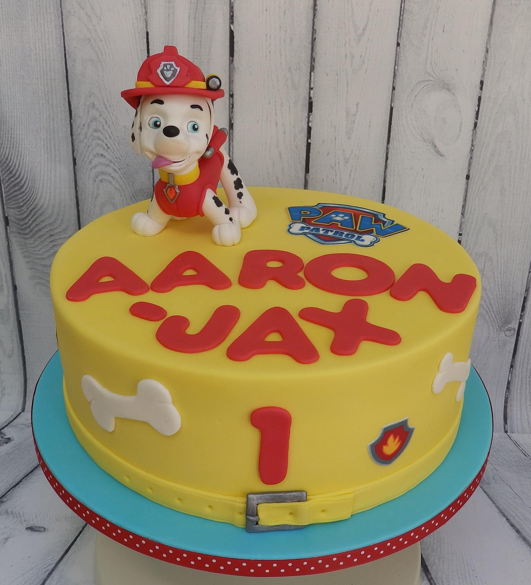 Cute Children's Birthday Cake