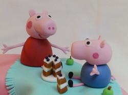 TV Cartoon Birthday Cake