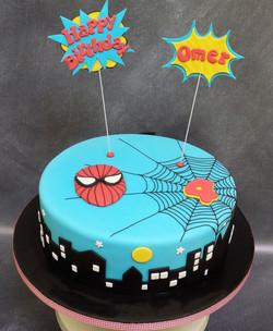 Superhero Character Kid's Cake
