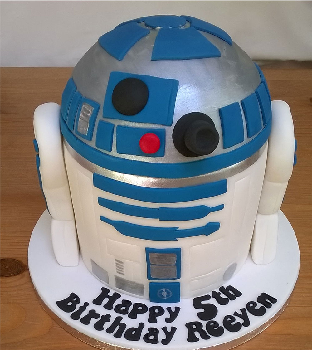 Star Wars Character Birthday Cake