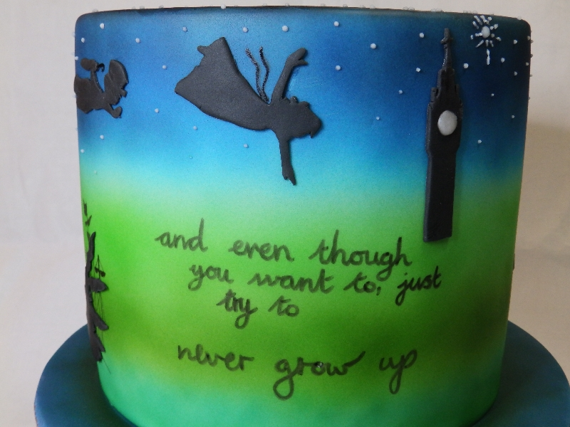 Chidren's Cake Based on a Story