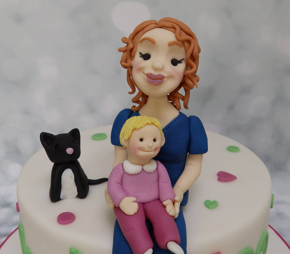 A Lovely Family Cake