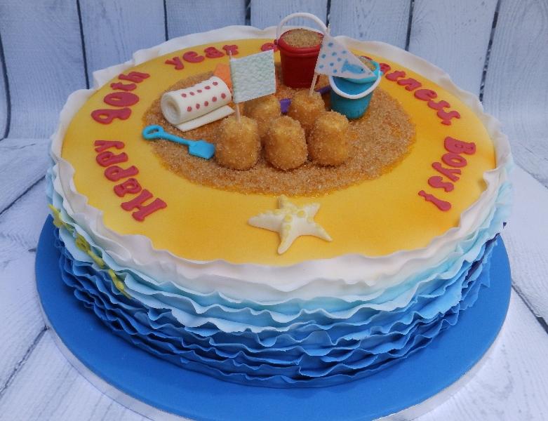Fun Personalised Birthday Cake