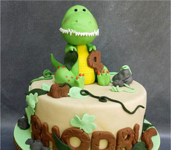 Boy's Birthday Party Cake