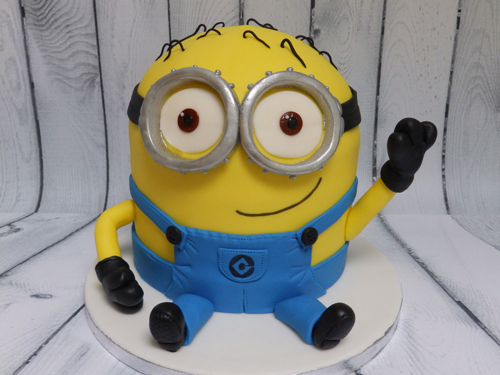 Custom-Made-Birthday-Minion-Cake