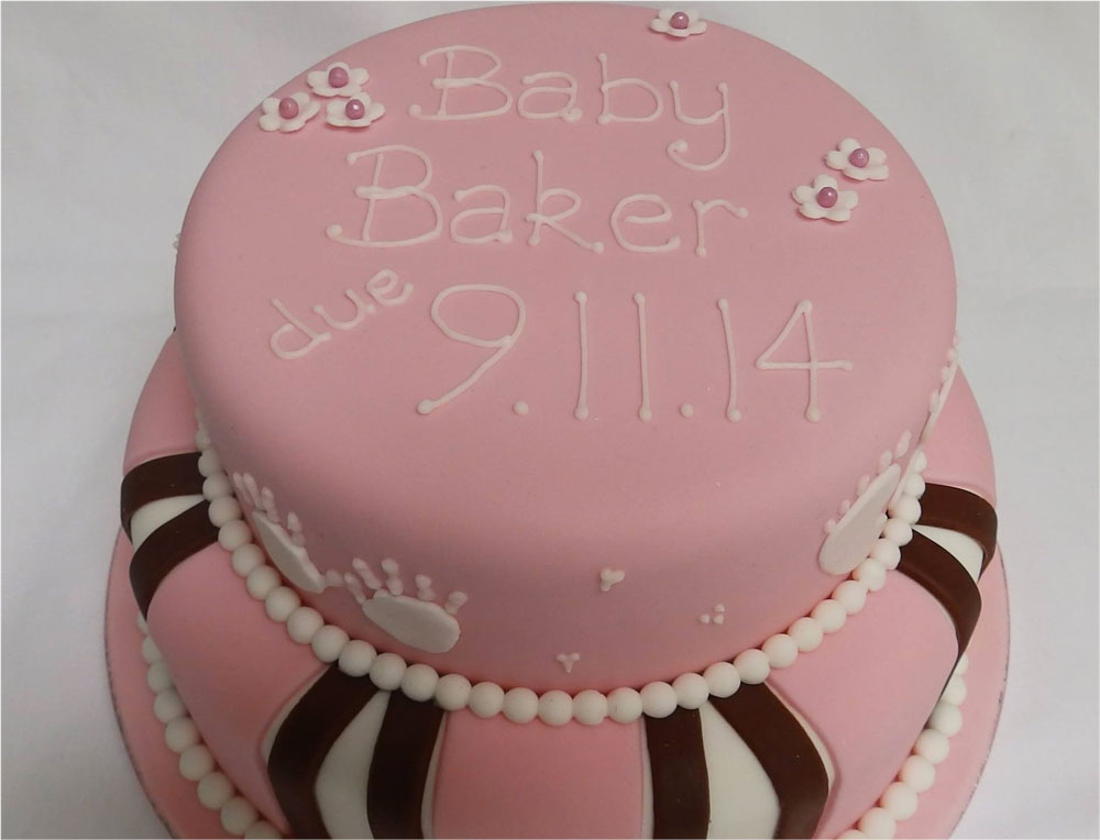 Maternity / New Baby Due Cake