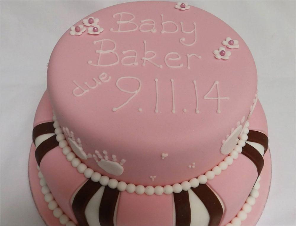 Maternity / New Baby Due Cake