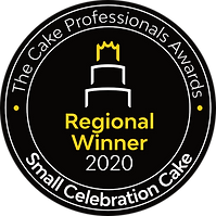 Small Celebration Cake - Regional Winner