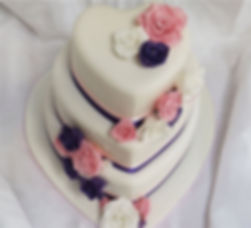 Bespoke wedding cake design bristol