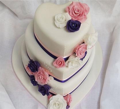 Bespoke wedding cake design bristol