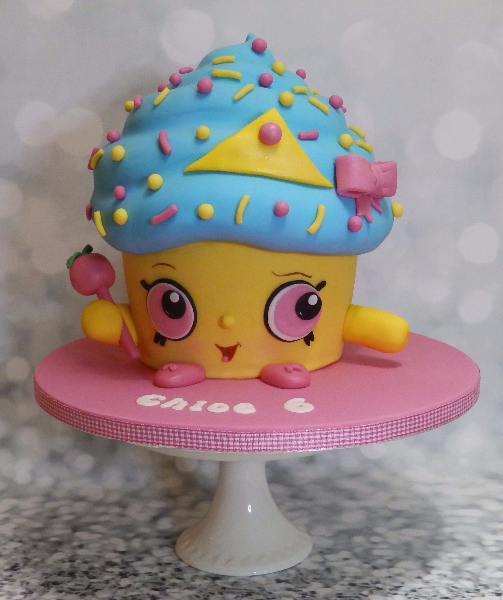 Cute Kids Cartoon Giant Cup Cake
