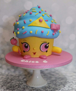 Cute Kids Cartoon Giant Cup Cake