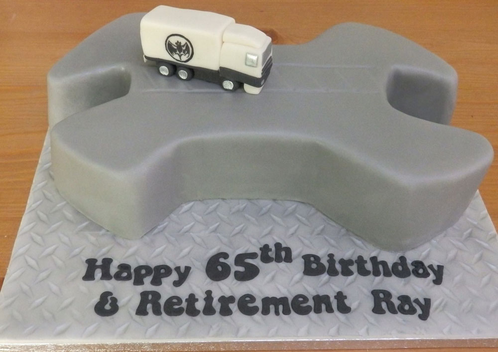 Happy Retirement Cake