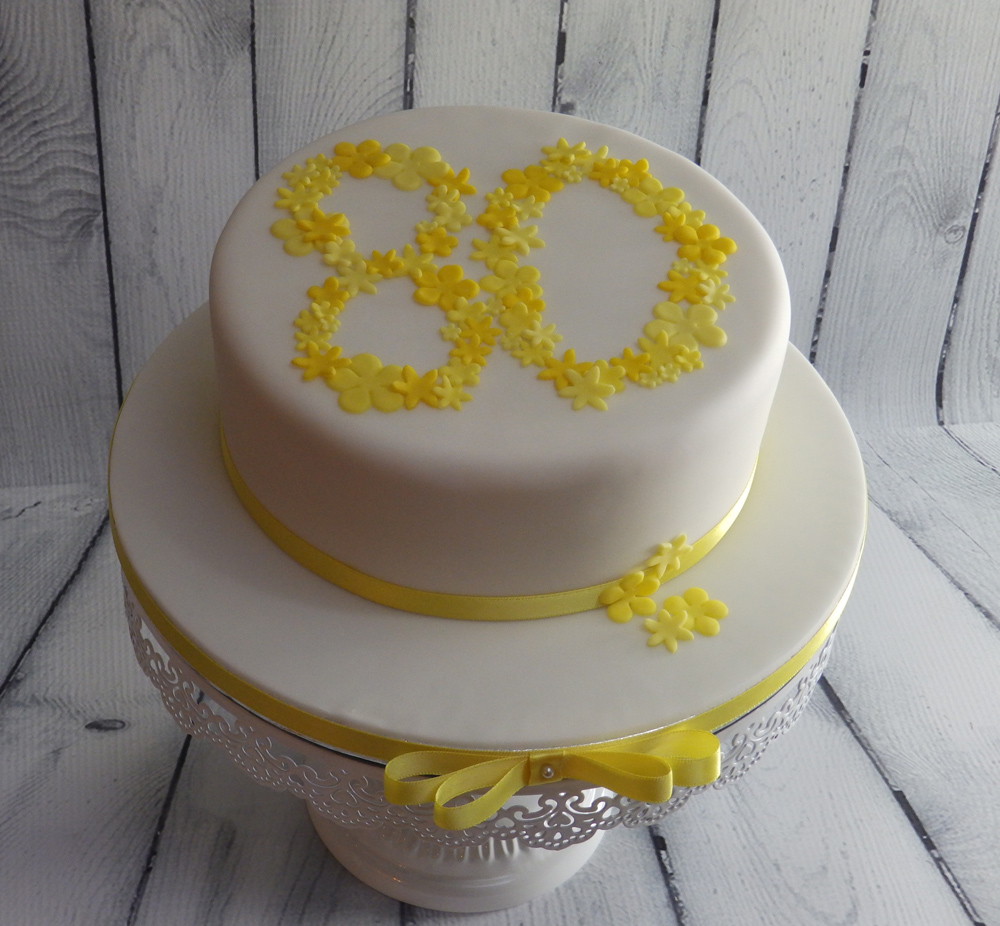 80th-Birthday-Cake
