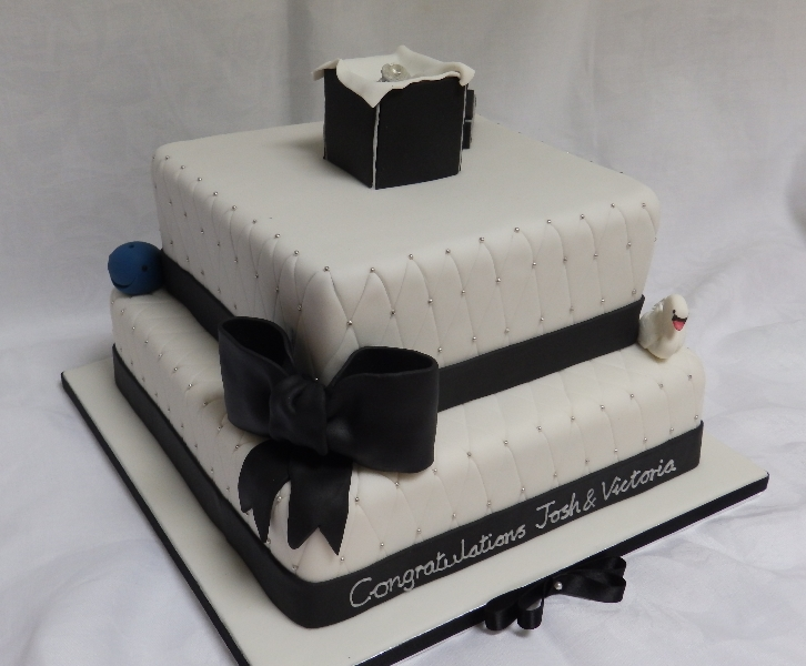 Personalised Engagement Cake