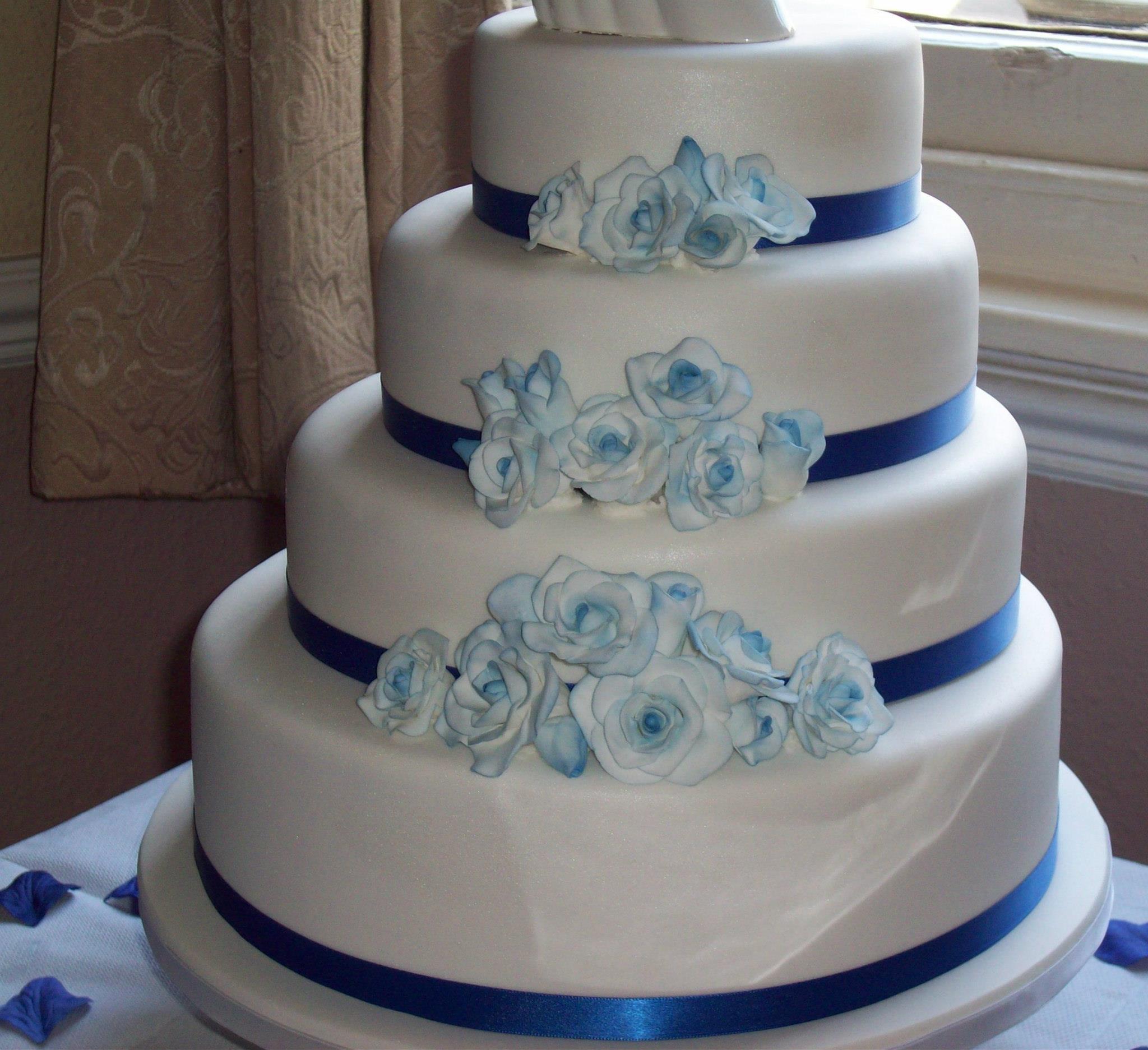 4 Tier Custom Made Cake