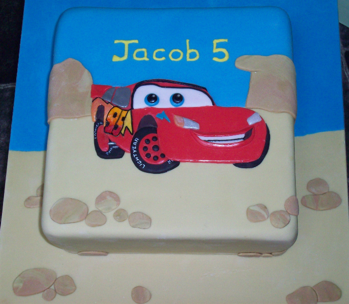 Favourite Cartoon Character Cake