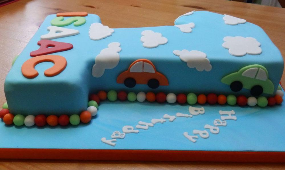 Baby's 1st Birthday Cake