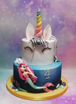 Unicorn-Mermaid-Rainbow