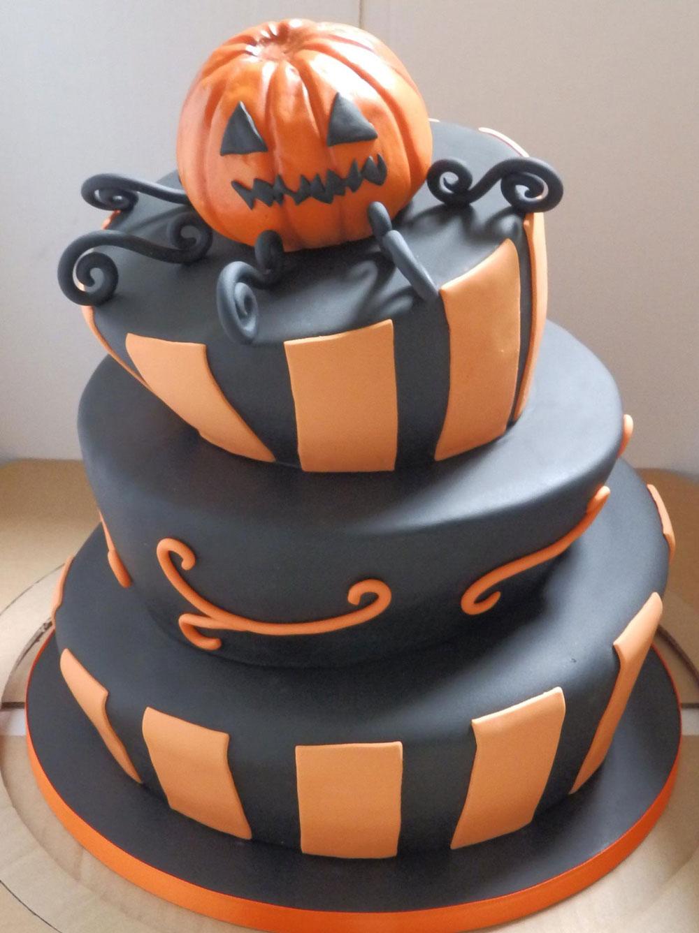 Celebrating Halloween Cake