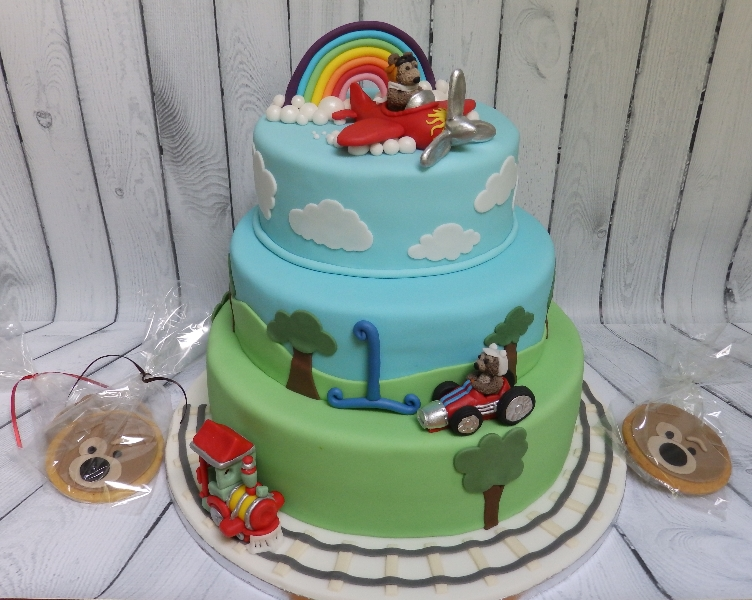Fun Cake for Children's Party