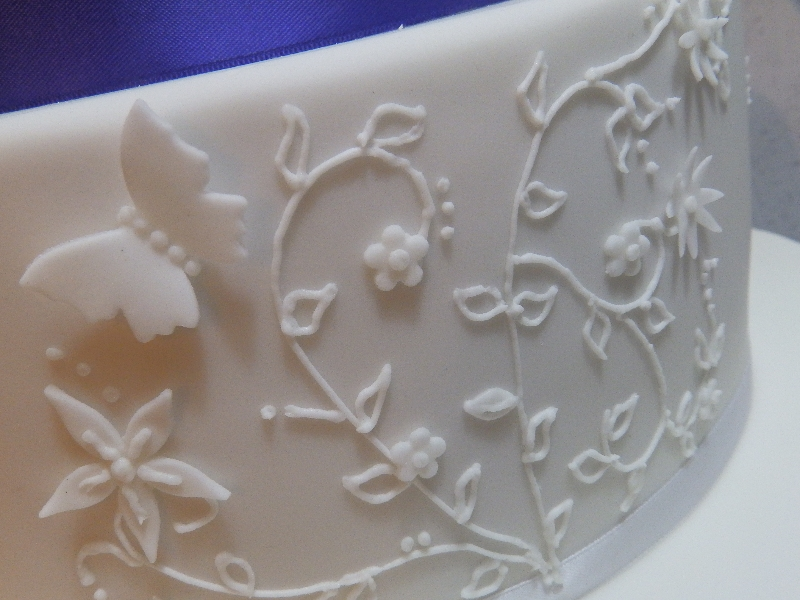 Detailed Cake Decoration
