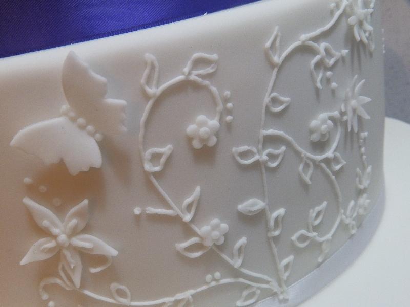 Detailed Cake Decoration