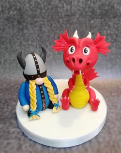 Dragon and Viking