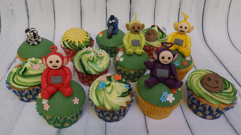 Kid's Party Themed Cup Cakes