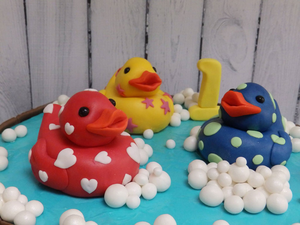 Ducks in a Pond Cake