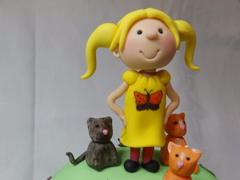 Children's Cake Topper, with pets!