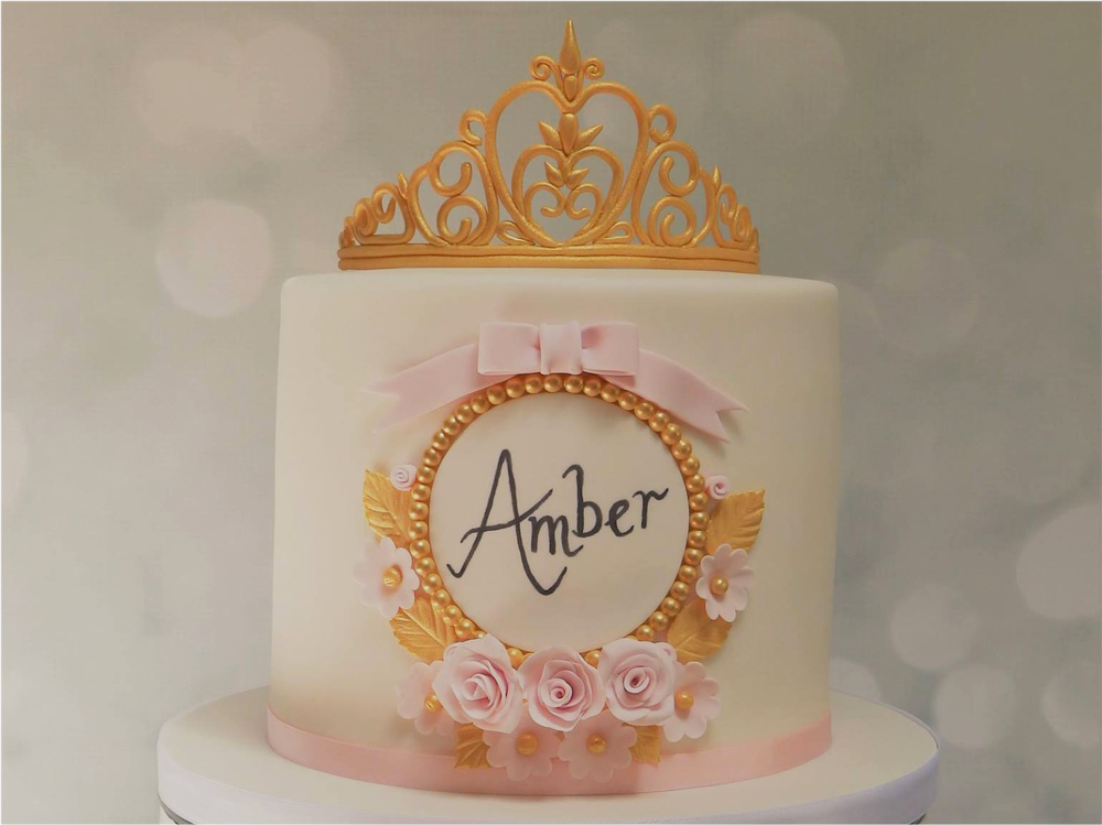 Personalised Princess Cake