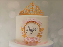 Personalised Princess Cake