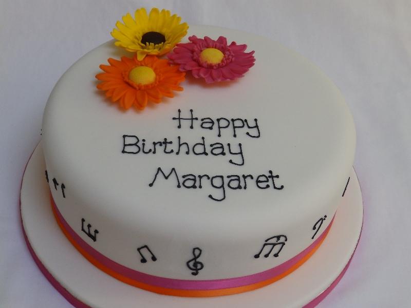 Simple Happy Birthday Cake