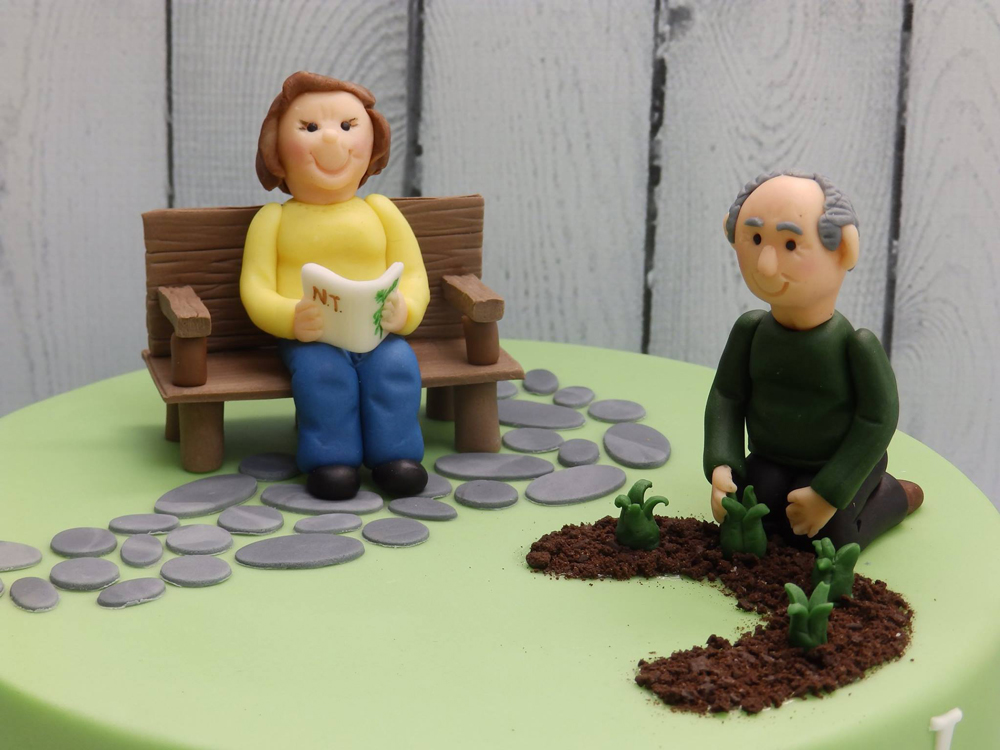 Couples Anniversary Cake