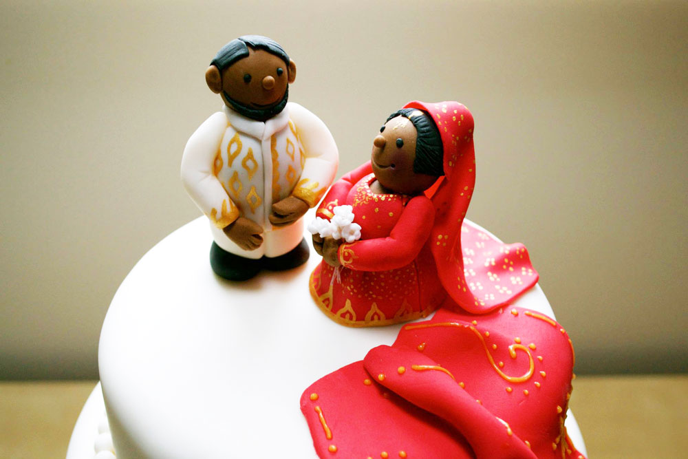 Personalised Indian Wedding Cake